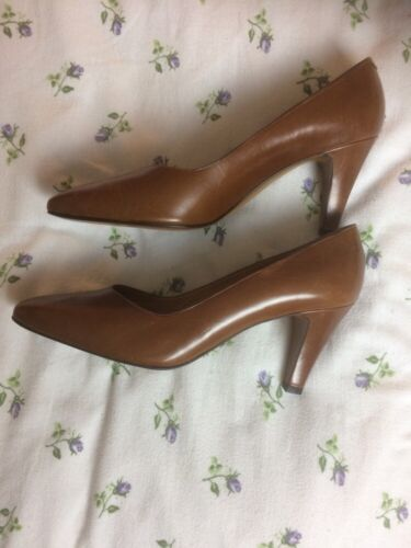 By Amalfi 'vixente' Heels Not Rangoli Leather Brown Court Shoes Worn 8 High qdCwAd