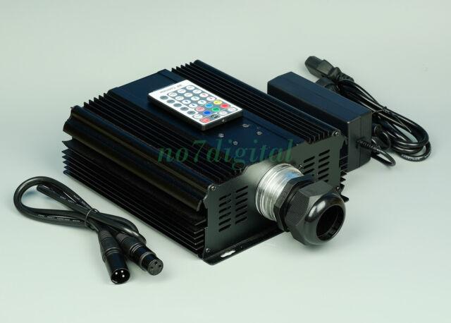 Professional 45W fiber optic light source DMX512+RF remote led light box UK/EU