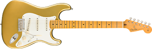 Fender Lincoln Brewster Stratocaster®, Maple Fingerboard, Aztec Gold - USA Made