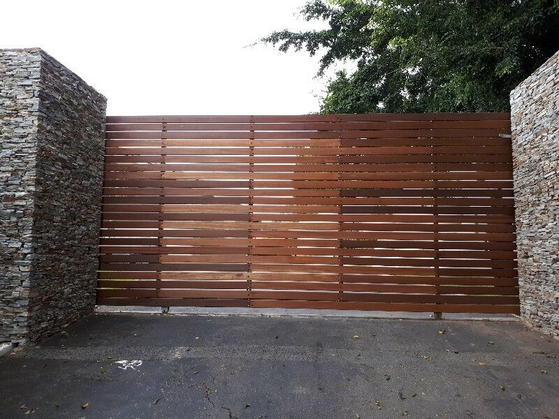 Driveway gates by: FOREST FENCING est. 34 years