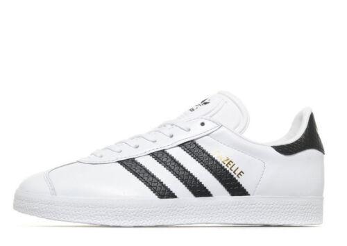 Adidas uk cuir noires blanc 5 Bnib en Gazelle 5 Originals et rayures Ztr6xZq