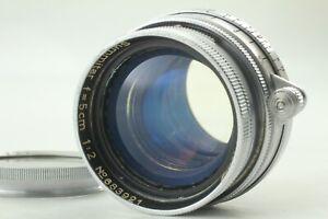 EXC-Leica-Summitar-5cm-50mm-f-2-l39-LTM-Screw-Mount-Lens-aus-Japan