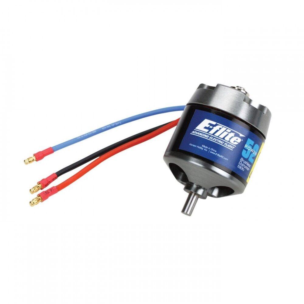 E-flite Power 52 Brushless Outrunner Motor  590Kv EFLM4052A