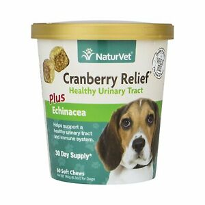 NaturVet-CRANBERRY-RELIEF-and-Echinacea-Soft-Chew-Dog-Urinary-Tract-60-count