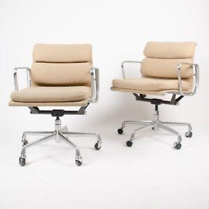 Image Is Loading Eames Herman Miller Soft Pad Aluminum Group Desk