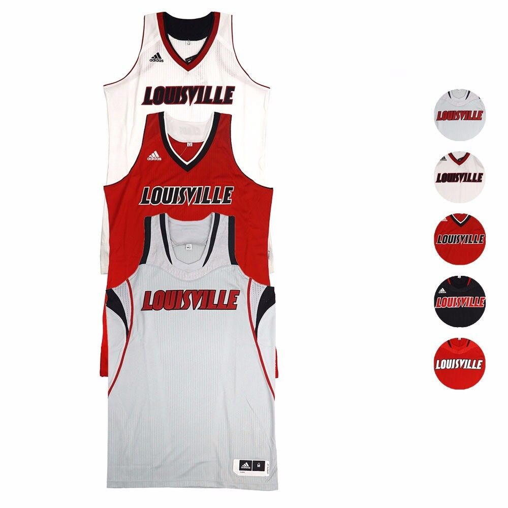 3ffc099d5f4f Louisville Louisville Louisville Cardin NCAA Adidas Authentic On-Court  Alternate Pro Cut Jersey Women 99d437