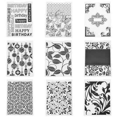 Plastic Embossing Folder Stencil DIY Scrapbooking Template Paper Cards Craft 1pc