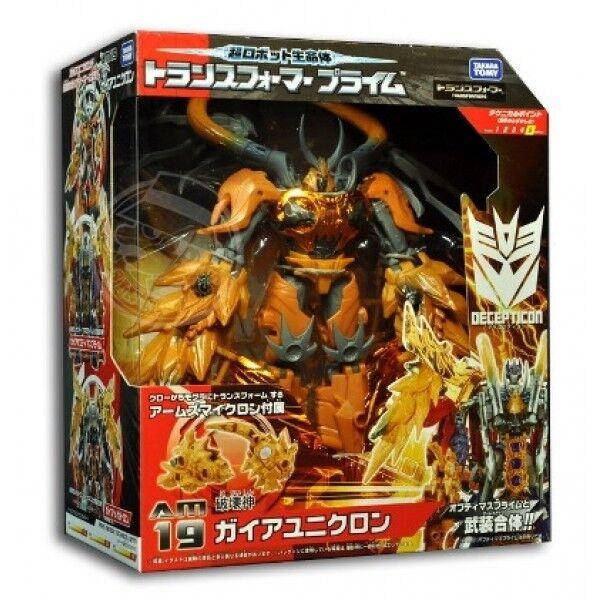 Takara Tomy Transformers Prime Animated Series AM-19 Gaia Unicron AM19