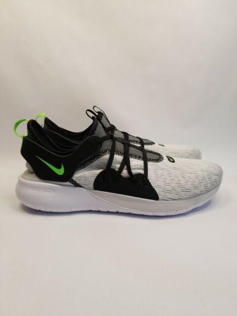 *NEW* Nike Flex Contact 3 Running Shoe White/Neon Green AQ7484-006, Mens Sz 11.5