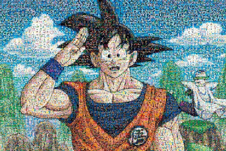 1000pcs Jigsaw Puzzle Dragon Btutti Z Mosaic Art Encielo 20  x 30  Gokuu Anime F S