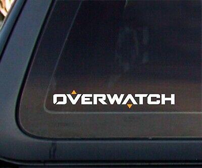 """Sticker 8/"""" x 1.3 /"""" OVERWATCH Vinyl Car Decal"""
