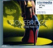 (DM632) Stonebridge VS Ultra Nate,  Freak On - 2005 CD