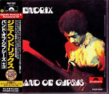 JIMI HENDRIX Band Of Gypsys +3 JAPAN CD 1991 W/Obi RARE
