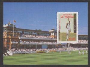 St Vincent Grenadines - 1988, Joueurs De Cricket De 1988 Feuilles-neuf Sans Charnière-sg Ms581