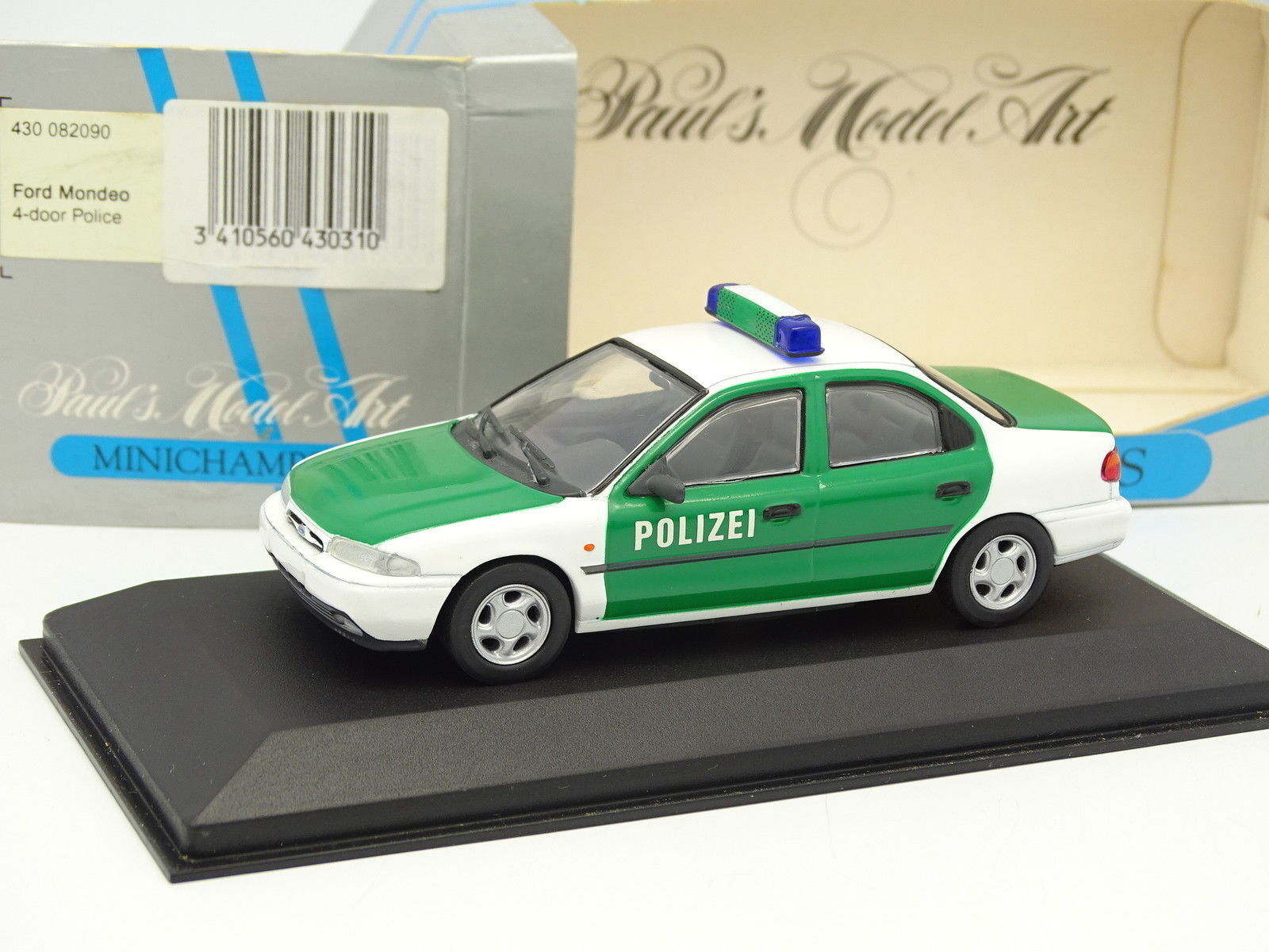 muy popular Minichamps 1 1 1 43 - Ford Mondeo Polizei  precios mas baratos