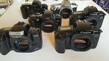 Lote De Trabajo Canon Eos 500/EOS 1000F/EOS 500N 35mm Solo Cuerpo/Cámaras De Cine