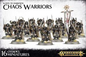 Esclaves To Darkness Chaos Atelier de Jeux de Guerriers Warhammer Âge De Sigmar