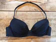 Black 34B Victoria's Secret ANGEL CONVERTIBLE Bikini Swims Top NS