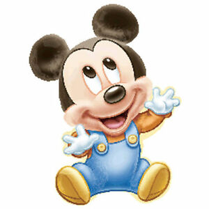 Baby Mickey Mouse 1st Birthday Balloon First Party Supply Decoration