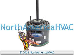 image is loading 5460-k55hxwll-1130-emerson-rescue-furnace-blower-motor-