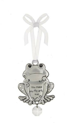 Blessings Ornament Frog You make my heart leap Ganz ER34781