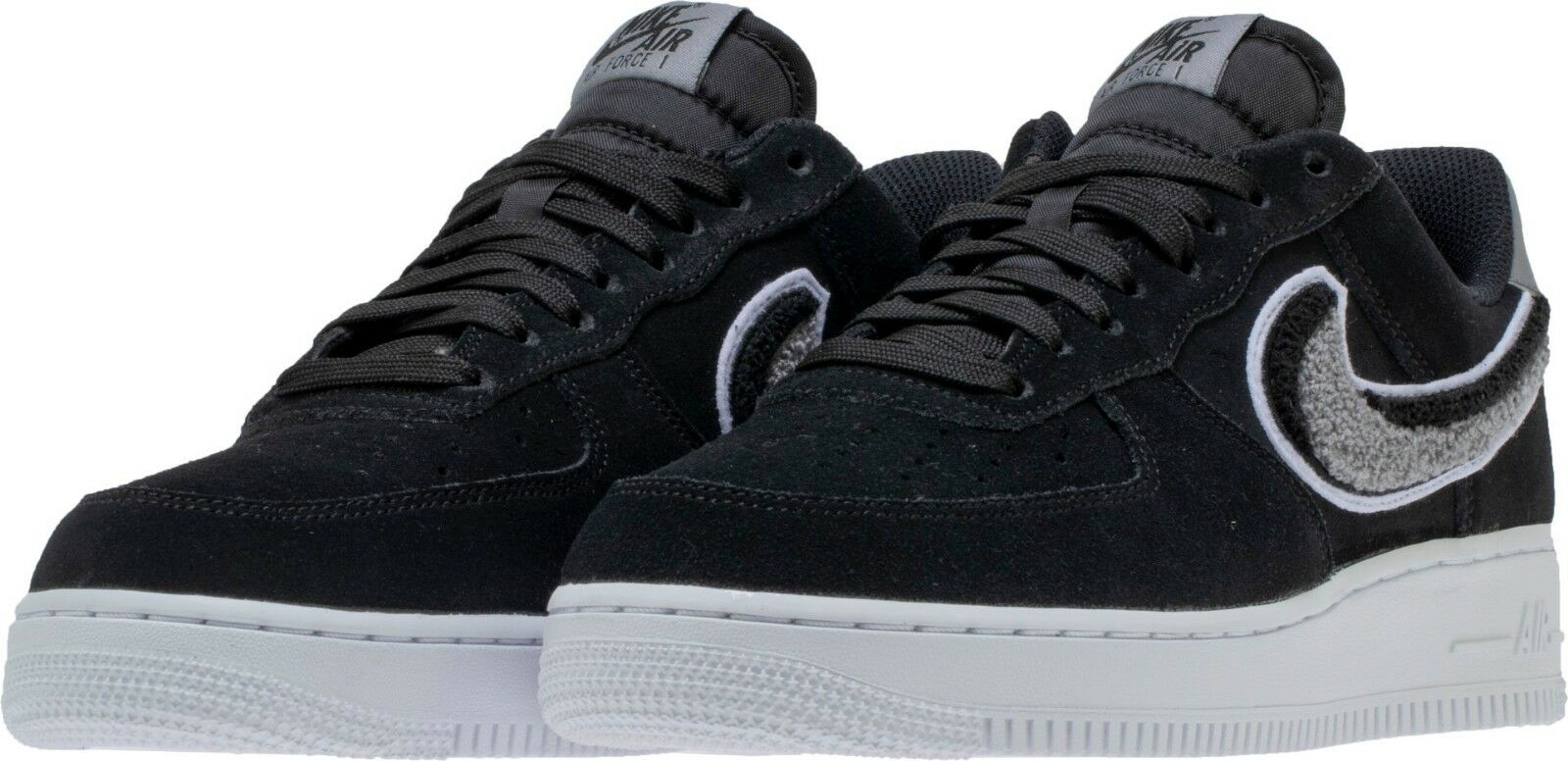 The most popular shoes for men and women Men's Nike Air Force 1 '07 Low LV8 Lifestyle Black/Grey Sz 8-12 NIB 823511-014