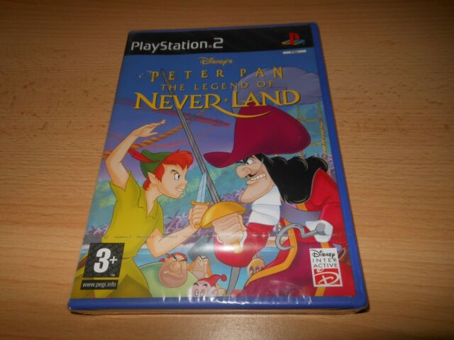 Peter Pan The Legend Of NeverLand - Playstation 2 New Sealed pal version ps2