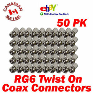 50-Coaxial-Cable-RG6-F-034-Twist-On-034-Connectors-for-Coax-cable-Satellite-and-more