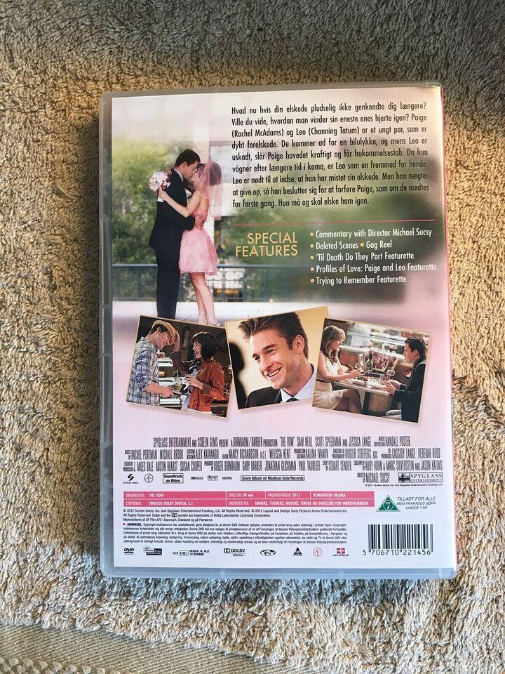 Elsk mig igen , The vow , DVD