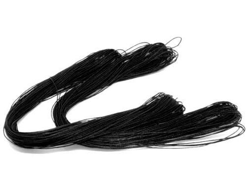 Großhandel schwarz wax Wachs string   Schnur  Garn 1mm