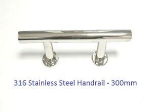 Handrail Grab Rail Handle 1300mm AISI 316 Stainless Steel Marine Boat