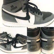 timeless design 09191 7769a item 4 Nike RARE AIR Jordan Retro 1 High Grey White Black Men s Size 10  332550-024 EUC -Nike RARE AIR Jordan Retro 1 High Grey White Black Men s  Size 10 ...