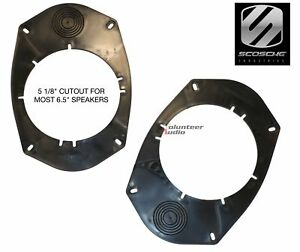 """Scosche SA69 6x9"""" to 5.25"""" and 6.5"""" speaker adapters"""