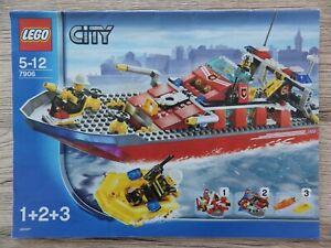 Notice-LEGO-CITY-police-pompier-Manuels-d-039-instructions-montage-ref-7906