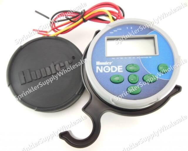 HUNTER NODE BATTERY OPERATED CONTROLLER: NODE-100 NODE-200 NODE-400 NODE-600