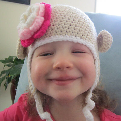 HANDMADE CROCHET KNIT HATS FOR BABIES /& KIDS-MICKEY MOUSE-SIZE 0-5 YEARS