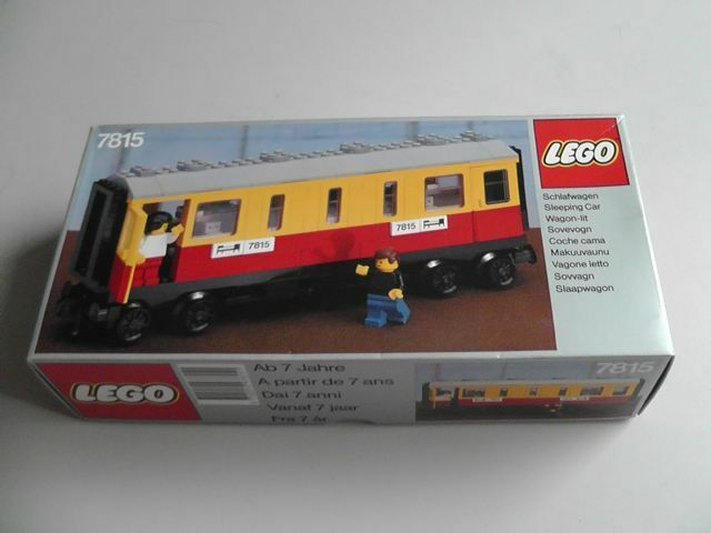 NEW Lego Trains 7815 Passenger Carriage / Sleeper Car Sealed HTF