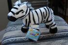 WEBKINZ*Plush/Stuffed*Black & White Stripe*Zebra*Sealed Code*NEW*