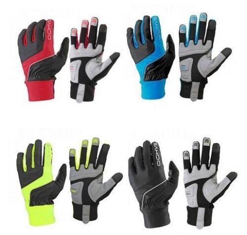 SAHOO Bicicletta Inverno Touch Screen dello Sport Ciclismo Antivento Caldo Full Finger Glove