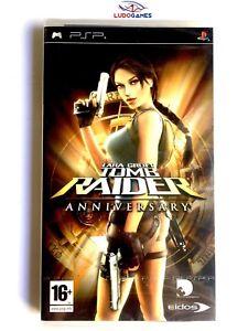 Tomb-Raider-Anniversary-PSP-Playstation-Neuf-Scelle-Retro-Scelle-Nouveau-SPA