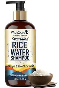 WishCare Fermented Rice Water Shampoo Strength & Growth Formula 300 Ml