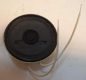 "4 lot  pcs 16 ohm 1 watt 3/"" Round Radio Speaker 1/"" shallow profile Japan NOS"