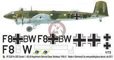 Peddinghaus 1/72 Fw 200 C-1 Condor Markings Edmund Daser 1./KG 40 France 2328