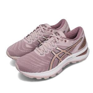 Detalles de Asics Gel-Nimbus 22 Rose Rosa Oro Para mujeres Zapatos  Deportivos carretera 1012A587-702- ver título original