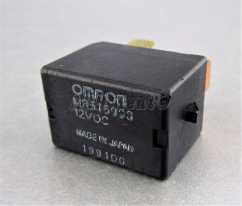 4-Pin Mirco Noir relais MR515993 OMRON 12VDC 1991D0 Japon 741-MITSUBISHI 00-13