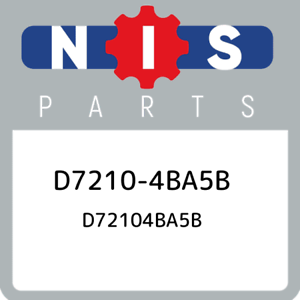 D7210-4BA5B-Nissan-D72104ba5b-D72104BA5B-New-Genuine-OEM-Part