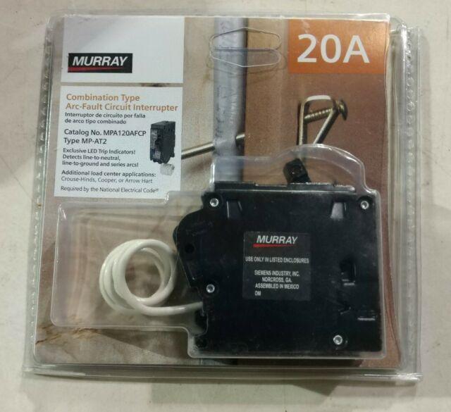Murray 20 Amp 1 In  Single