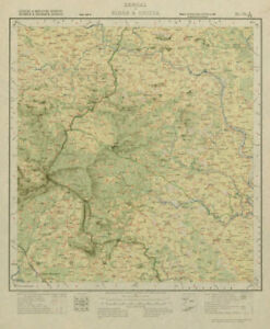 Survey Of India 73 J/ne West Bengal Chandil Dalma Raipur Ranibandh 1929 Map Antiques