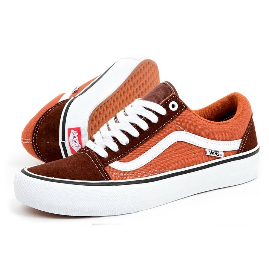 VANS - Old Skool Pro - Potting Soil / Pelle Brown - VN000ZD4U14  65