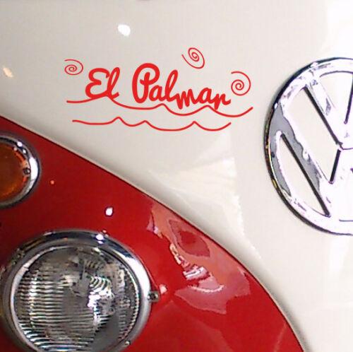 Vinilo decorativo #726# EL PALMAR SURF pegatinas pared stickers